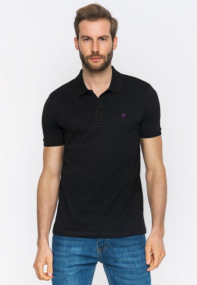 SHORT SLEEVE - Poloshirt - black