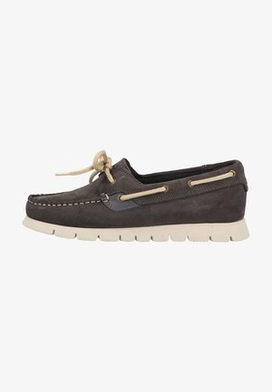 Boat shoes - antracite grey