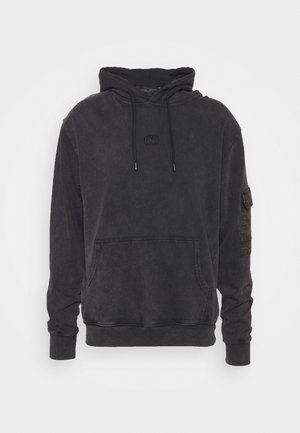 ESSENTIAL UTILITY HOOD - Sweat à capuche - black