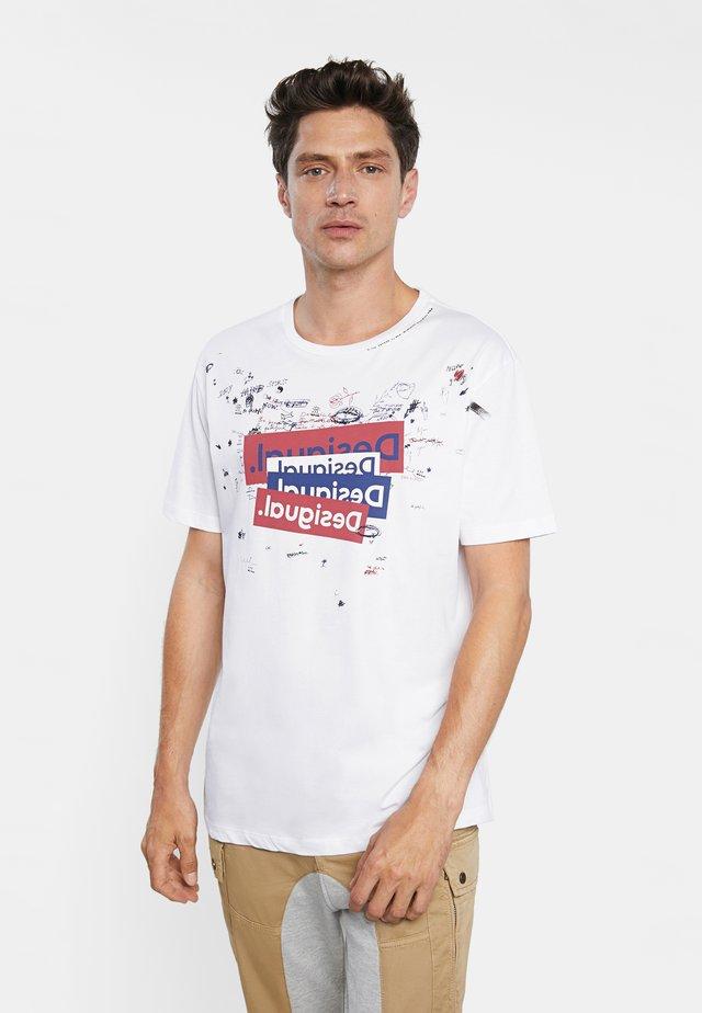 TS_CANAAN - T-shirt print - white