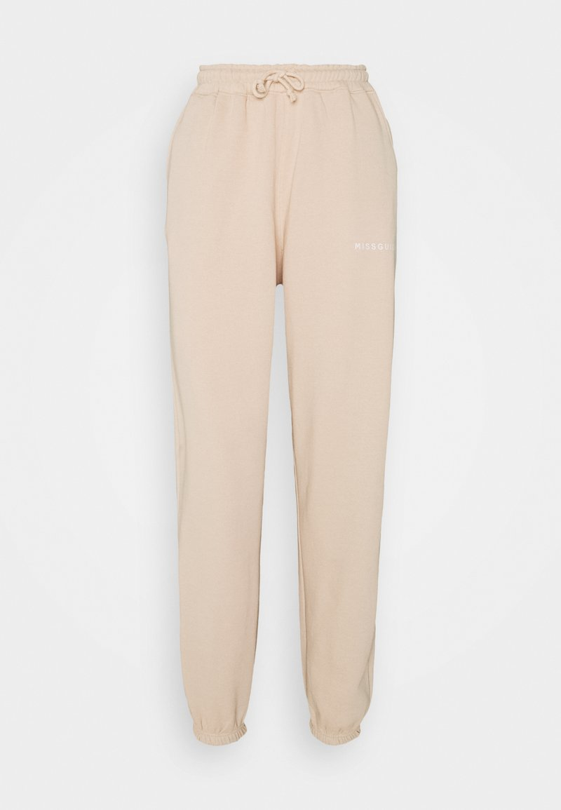 Missguided Tall - Tracksuit bottoms - baby pink