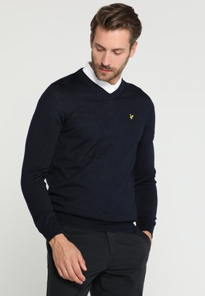 GOLF V NECK - Neule - navy