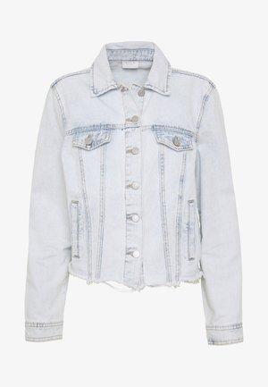 VIANNABEL SHORT JACKET - Džínová bunda - light blue denim