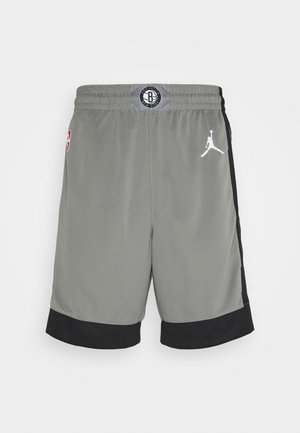 NBA BROOKLYN NETS SWINGMAN SHORT - Pantaloncini sportivi - dark steel grey/black/white