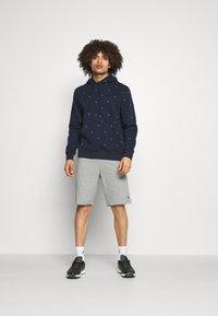 Calvin Klein Golf - ALL OVER PRINT HOODIE - Sweatshirt - navy - 1