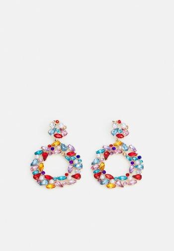 PCCALLIOPE EARRINGS - Earrings - gold color/multi