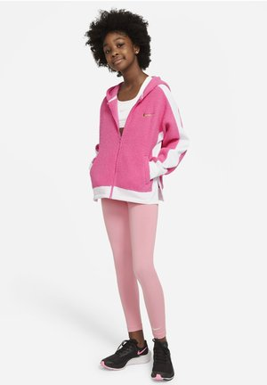 THERMA WINTERIZED - Fleece jacket - pinksicle/white