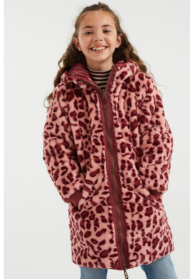 WE Fashion - Winter coat - old rose