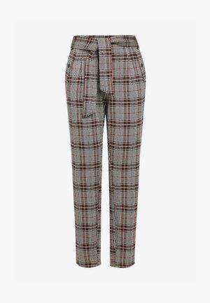 PONTE PEG  - Spodnie materiałowe - brown