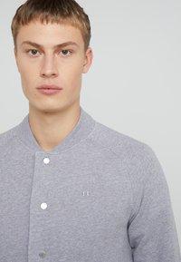 J.LINDEBERG - JASPER  STRUCTURE - Zip-up hoodie - grey melange - 4