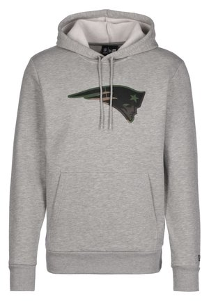 NFL NEW ENGLAND PATRIOTS CAMO LOGO KAPUZENPULLOVER HERREN - Hoodie - light grey heather
