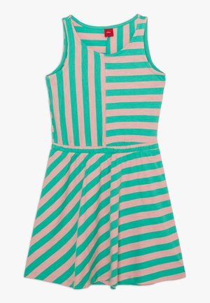 Jersey dress - apfelgrün