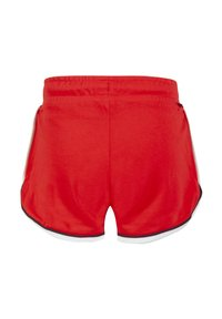 WE Fashion - MIT SCHRIFTZUG - Shorts - red - 1