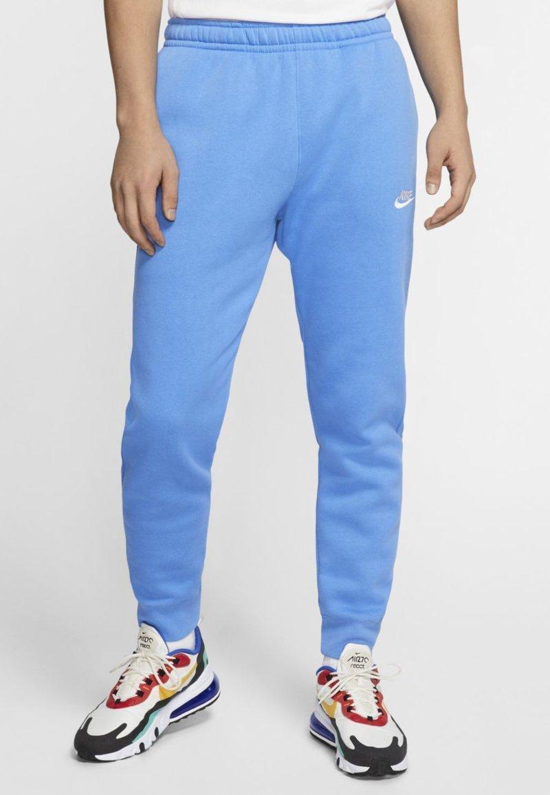 Nike Sportswear - CLUB - Pantaloni sportivi - pacific blue/white