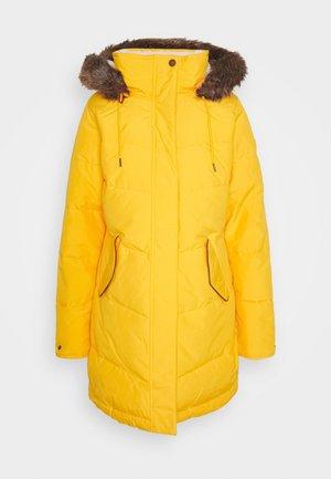 ELLIE - Winter coat - golden rod