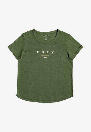 OCEANHOLIC  - Print T-shirt - vineyard green