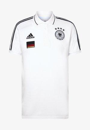 DFB DEUTSCHLAND 3S POLO - Squadra nazionale - white