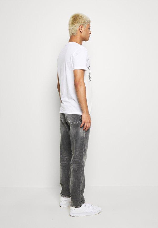 G-Star 3301 STRAIGHT TAPERED - Jeansy Straight Leg - grey denim/szary denim Odzież Męska OAFD