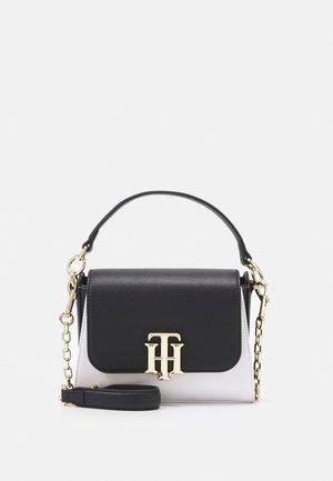 LOCK SMALL SATCHEL - Handbag - blue