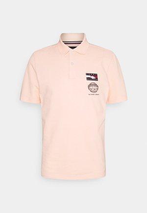 ONE PLANET SMALL LOGO UNISEX - Koszulka polo - delicate peach
