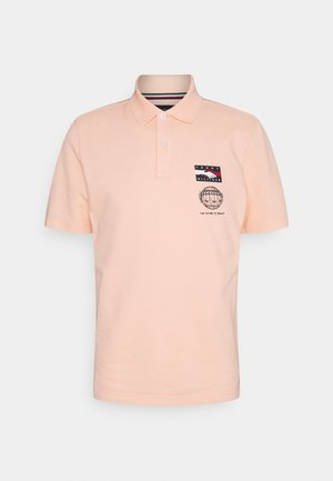 ONE PLANET SMALL LOGO UNISEX - Polo - delicate peach