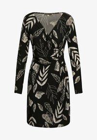 Apart - BLÄTTER - Day dress - schwarz-weiß - 2