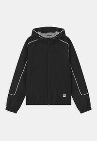 BOSS Kidswear - WINDBREAKER - Light jacket - black - 0