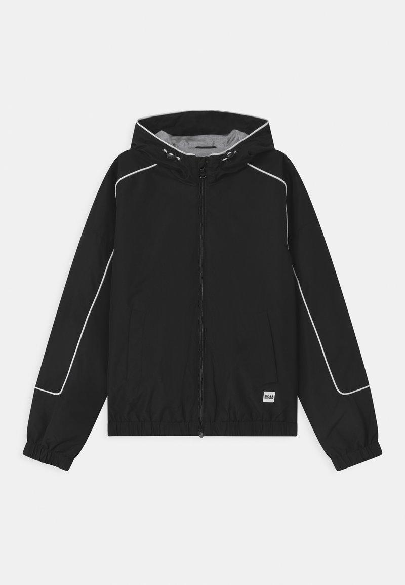 BOSS Kidswear - WINDBREAKER - Light jacket - black