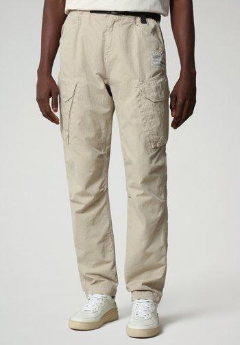 M-HONOLULU - Cargo trousers - natural beige