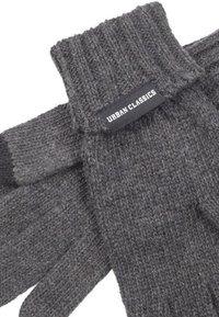 Urban Classics - Gloves - darkgrey melange - 1