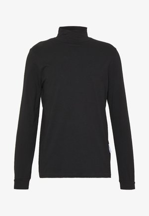 ROLLNECK HANGER - Long sleeved top - black