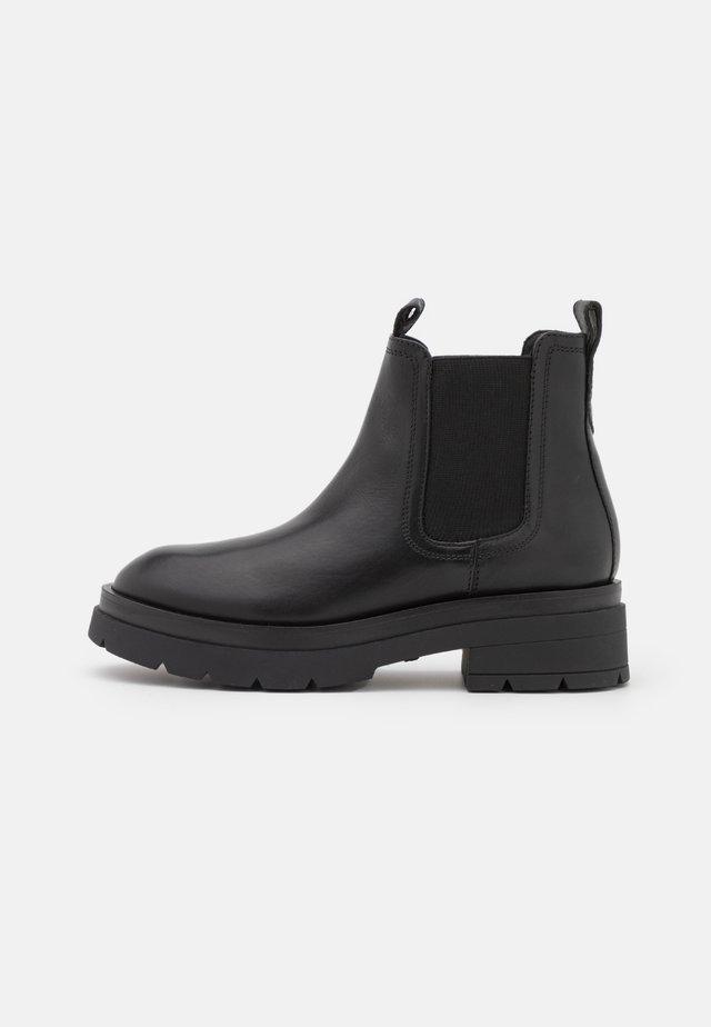 FILIPPA  - Platform ankle boots - black