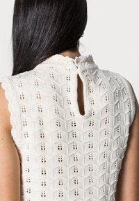 Rich & Royal - CREW NECK WITHOUT SLEEVES - Jumper - white stone - 3