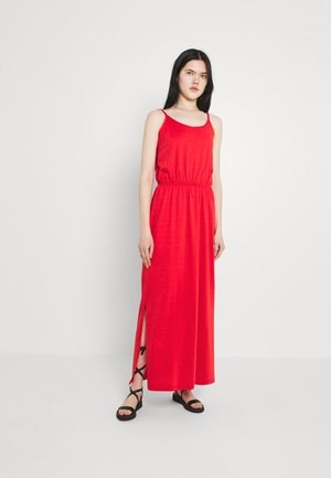 VIDREAMERS SINGLET - Maxi dress - flame scarlet