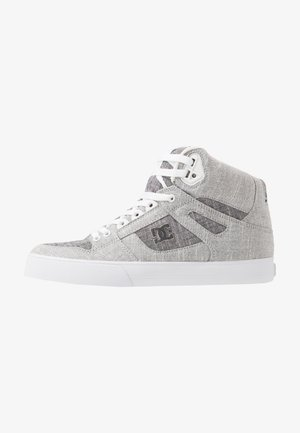 PURE TOP SE - Skate shoes - grey/white