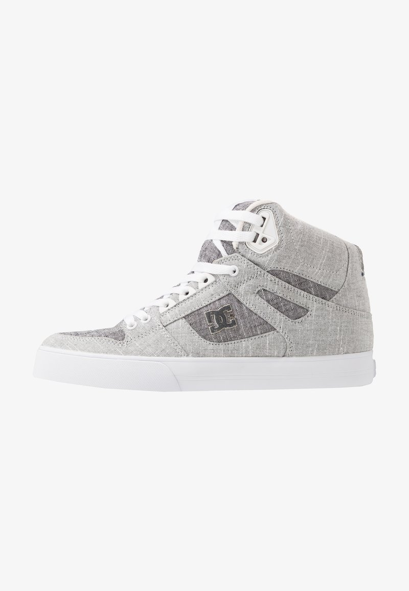 DC Shoes - PURE UNISEX - Skateskor - grey/white