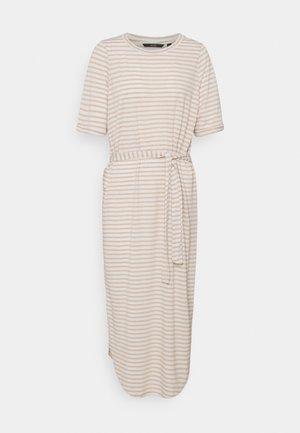 VMALONA CALF DRESS - Jersey dress - white
