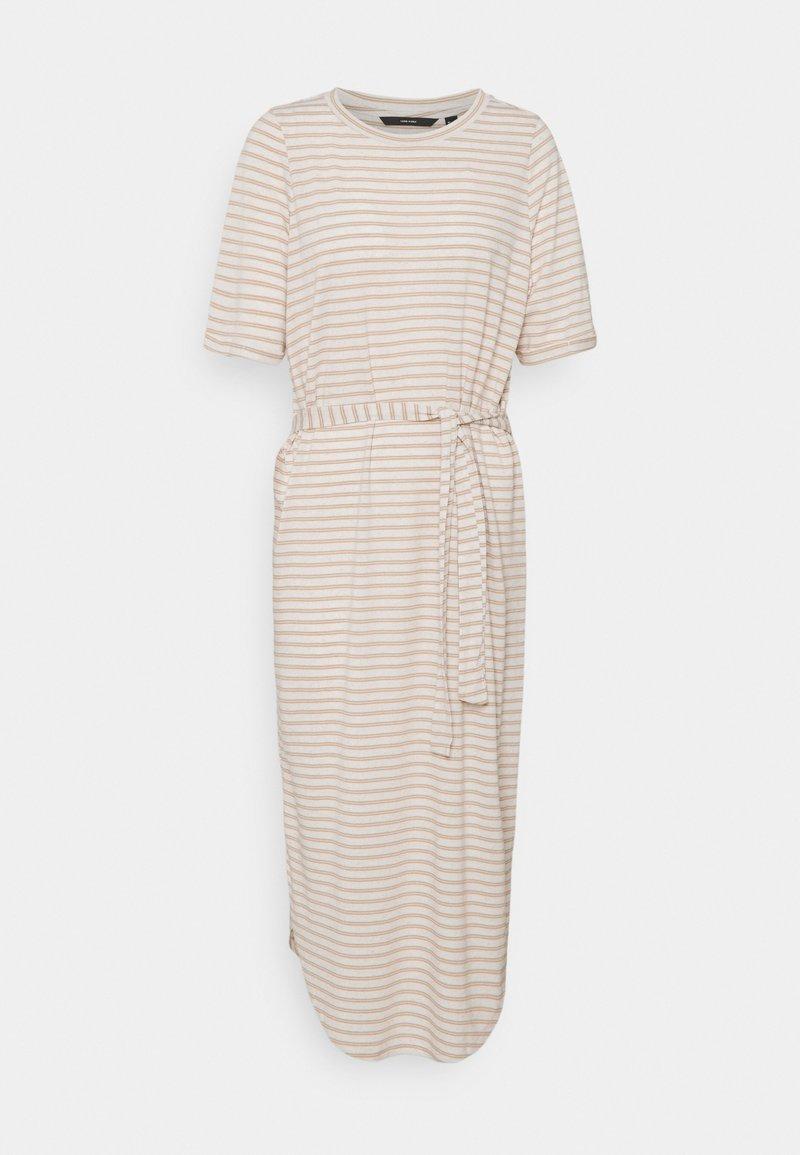 Vero Moda Tall - VMALONA CALF DRESS - Jersey dress - white