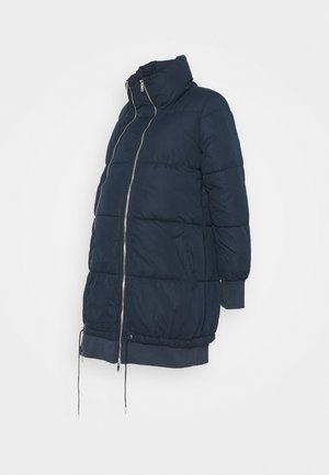 MLLINE 2 IN 1 LONG COAT  - Vinterfrakker - navy blazer