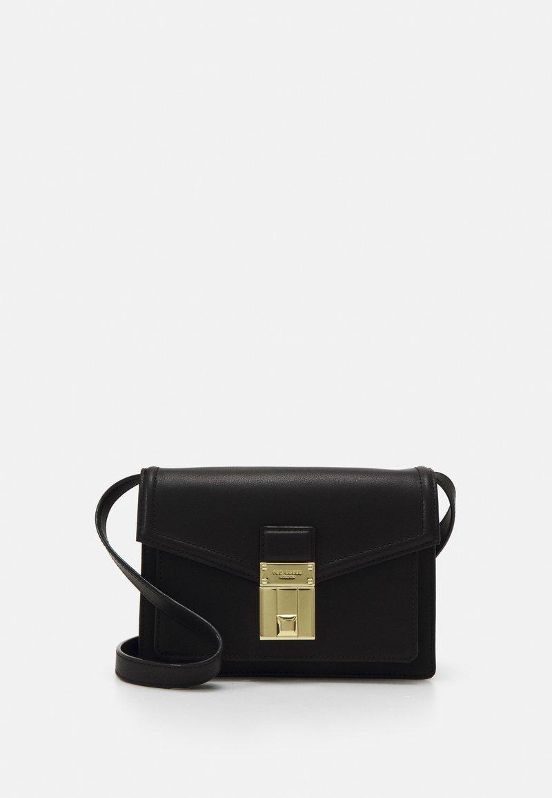 Ted Baker - KAYLEEA LUGGAGE LOCK XBODY BAG - Across body bag - black