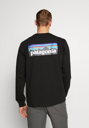 LOGO RESPONSIBILI TEE - Long sleeved top - black