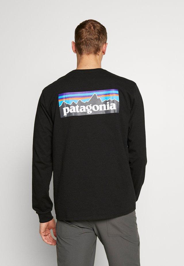 LOGO RESPONSIBILI TEE - Pitkähihainen paita - black