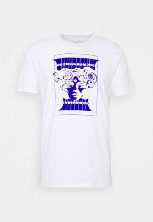 LEVSTONE - T-Shirt print - white