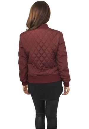 Light jacket - burgundy