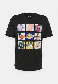 Outerstuff - NBA LOS ANGELES LAKERS SPACE JAM TUNE ZOOM TEE - Print T-shirt - black - 4