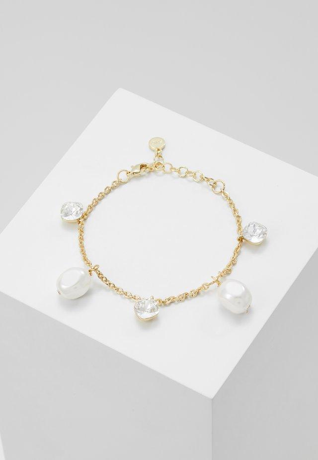MUSE CHARM BRACE - Bracelet - white