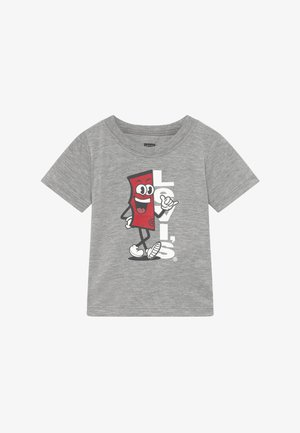 GRAPHIC TEE - Print T-shirt - grey heather