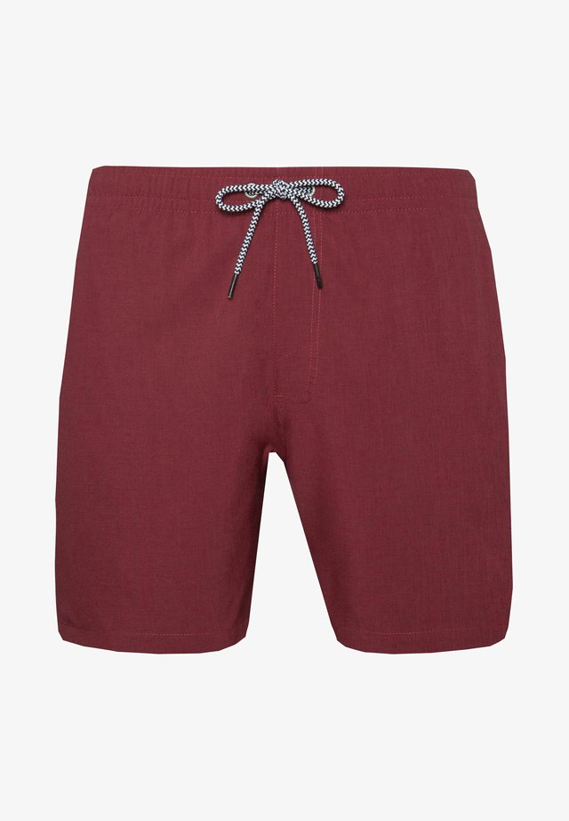 DAVE - Swimming shorts - red