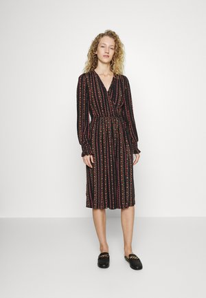 Maxi dress - multicolor/black