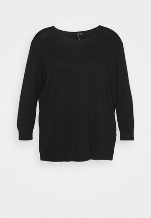CREW NECK  - Jersey de punto - black